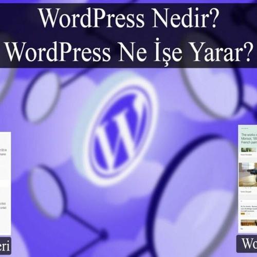 Wordpress nedir? Wordpress ne işe yarar?