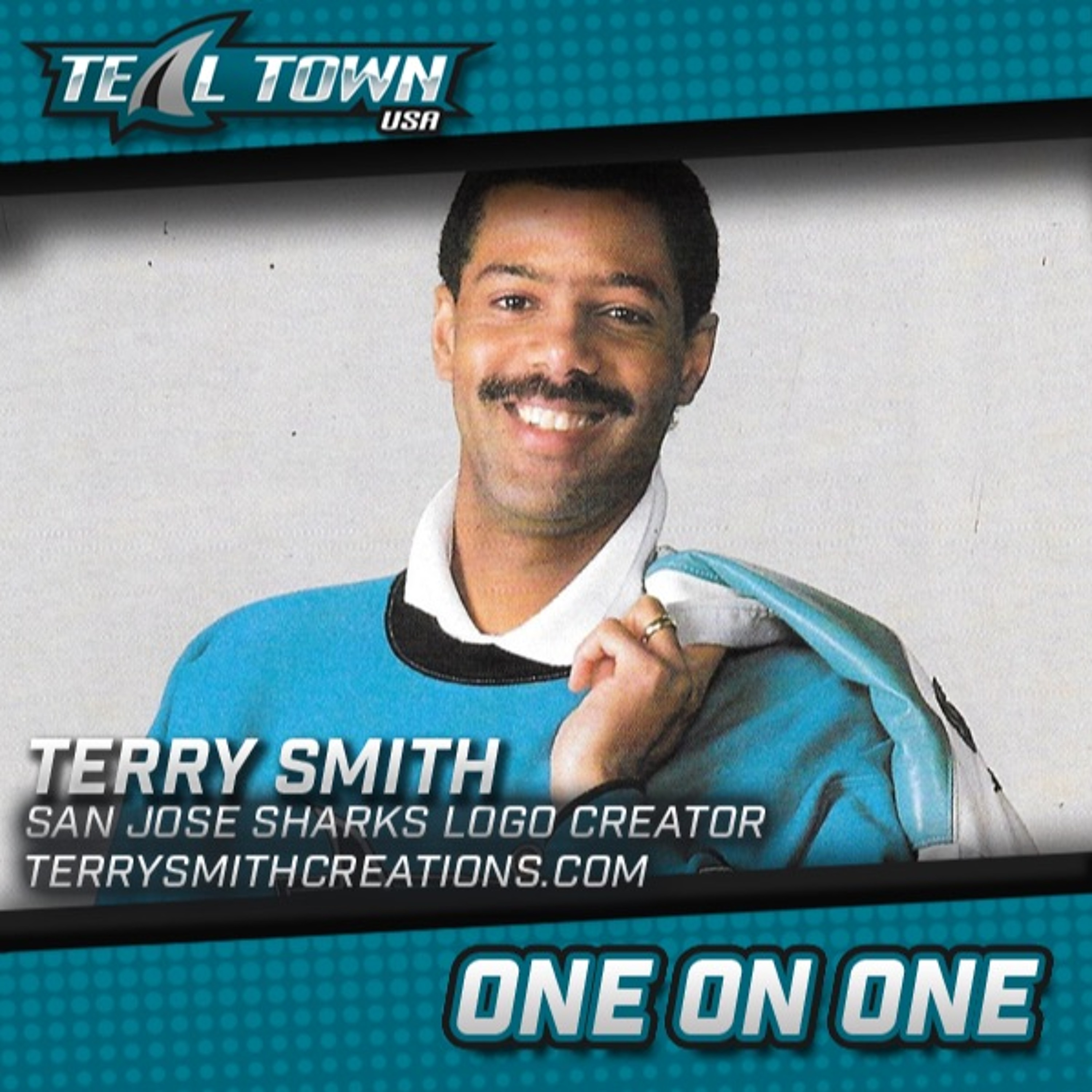 One on One with Terry Smith - San Jose Sharks Logo Creator