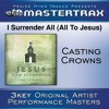I Surrender All (All To Jesus) [Medium Without Background Vocals] (Performance Track)