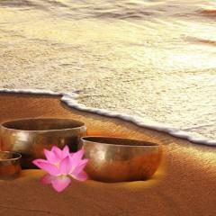 Tibetan Singing Bowl Meditation [ NO COPYRIGHT MUSIC]