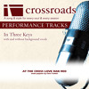 At the Cross (Love Ran Red) (Performance Track Low with Background Vocals)