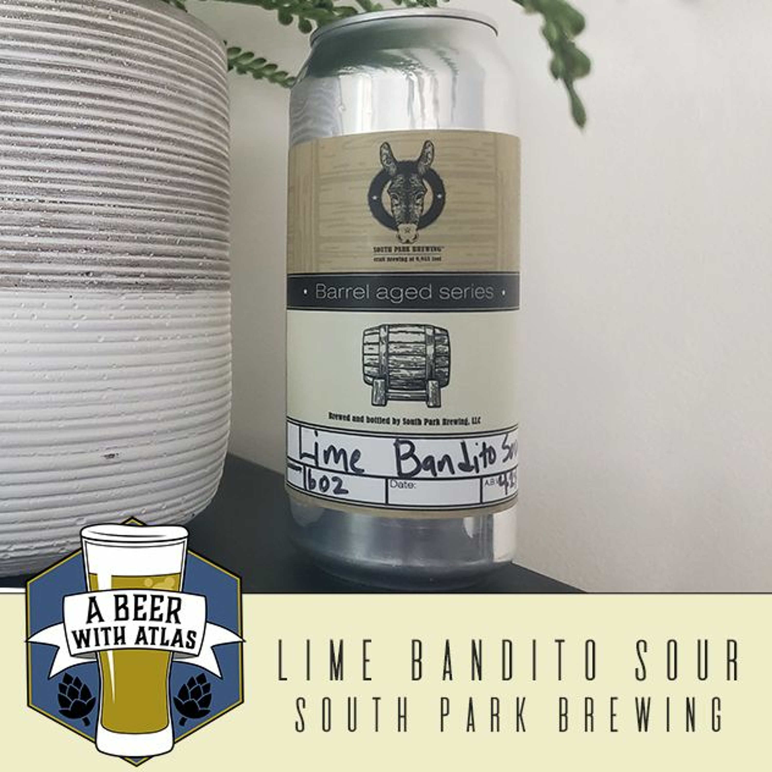 Lime Bandito Sour from South Park Brewing - Beer With Atlas 106