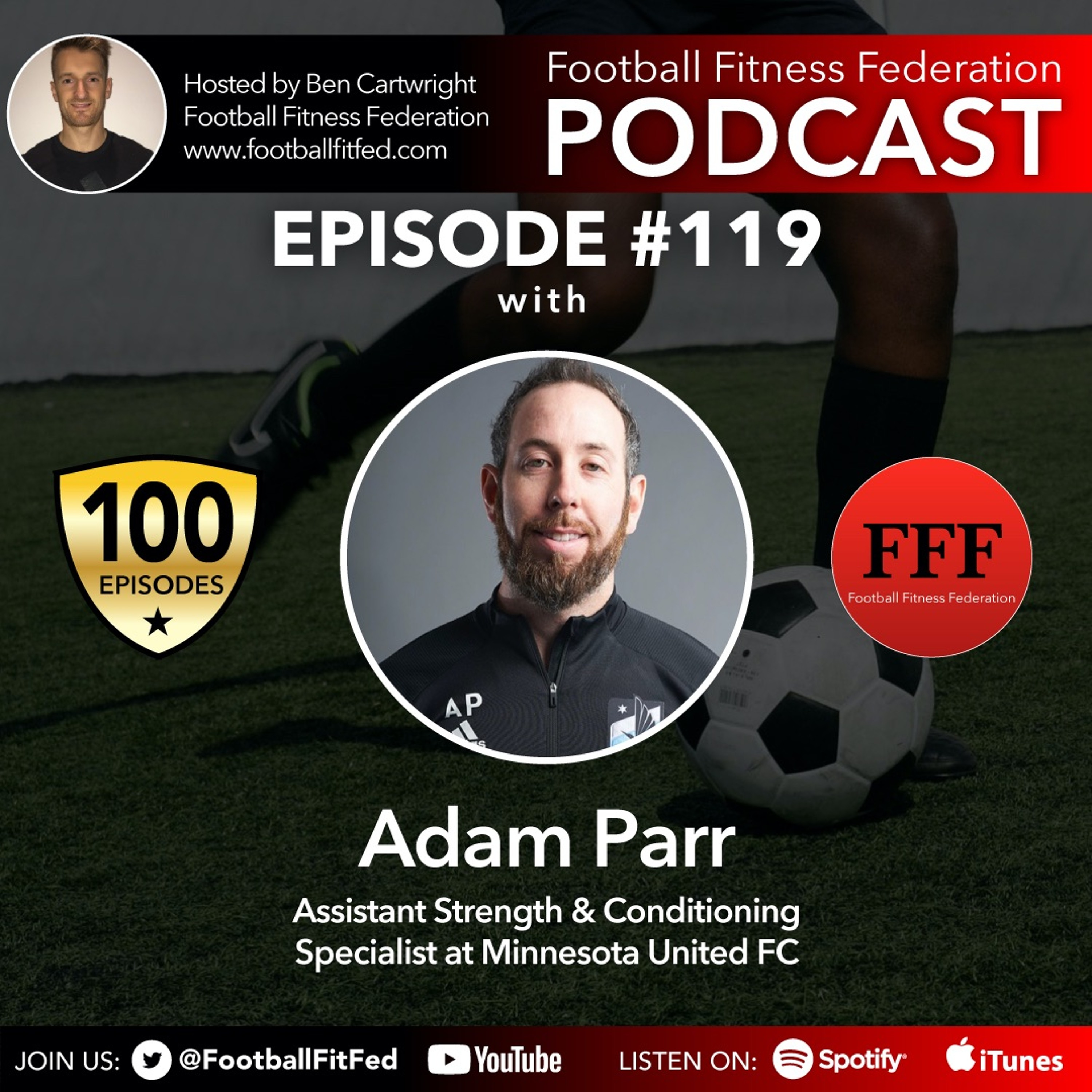 """#119 """"Adapt & Overcome"""" With Adam Parr"""
