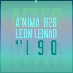 aˈɲima & Leon Leinad present Afterhour Sounds Podcast Nr. 190