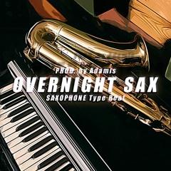 Overnight Sax - Boombap Saxophone Type Beat - 63Bpm | Prod. by Adamis