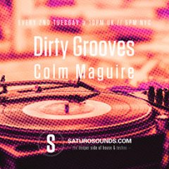 Dirty Grooves 02 - October Show - Saturo Sounds Radio