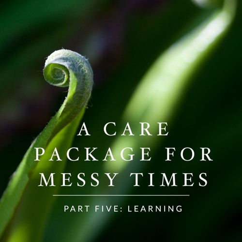 Care Package for Messy Times Learning Welcome Letter