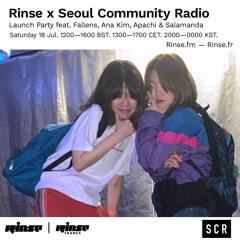 Rinse x Seoul Community Radio Launch: Salamanda - 18 July 2020