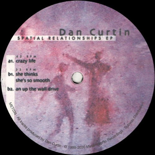 Dan Curtin - Spatial Relationships EP (Reissue) (MET036)