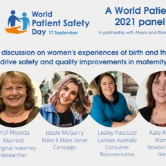 World Patient Safety Day Q&A Panel - Maternal and Child health