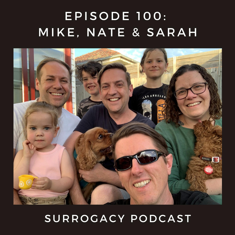 Mike, Nate & Sarah