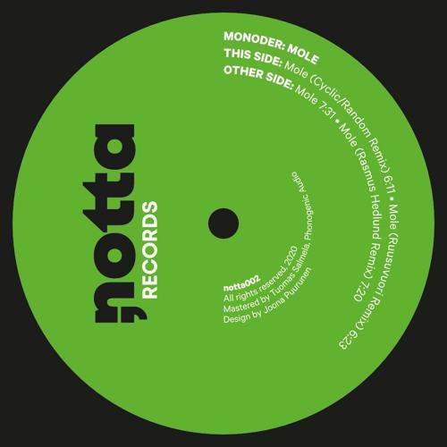 Monoder - Mole (NOTTA002)
