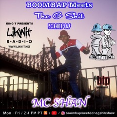 Boombap Meets The Gshit Show MC Shan/Sparky Dee Interview