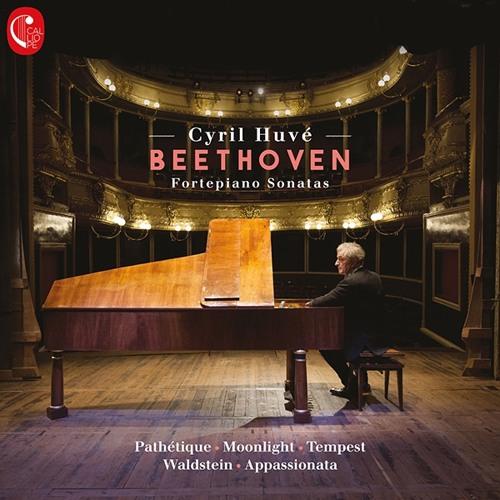 Cyril Huvé - Beethoven : Fortepiano Sonatas