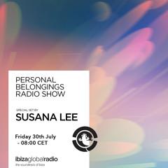 Personal Belongings Radioshow 34 @ Ibiza Global Radio Mixed By Susana Lee