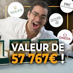Ma collection de montres de luxe (Rolex, Omega, IWC, Panerai...)