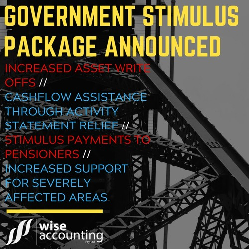Government Stimulus Package (WAP 049)