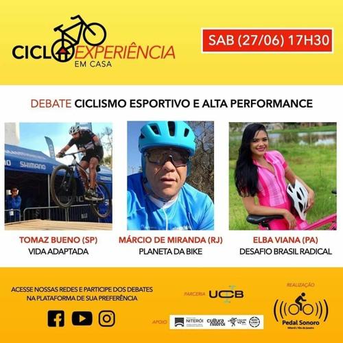 CICLOEXPERIÊNCIA 2020 - EM CASA - CICLISMO ESPORTIVO E ALTA PERFORMANCE