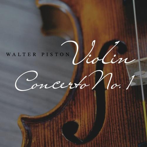 Violin Concerto No. 1 by Walter Piston