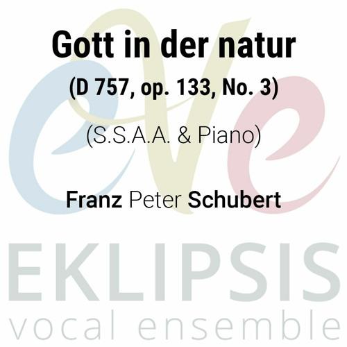 Schubert - Gott In Der Natur D 757. Op. 133. Νο. 3