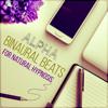 Theta Binaural Beats for Deep Concentration