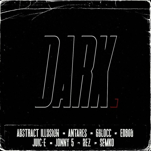 VA — DARK (Compilation by ed808 & 6Blocc) [LP]