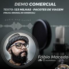 Demo Comercial - 123 Milhas - Pacotes de viagem