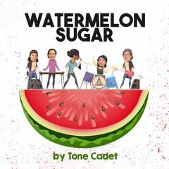 Watermelon Sugar - Cover by Tone Cadet ft. Chain Danie