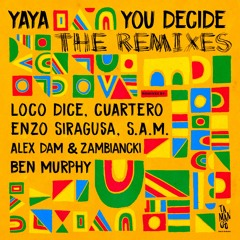 Yaya - You Decide LP   The Remixes (clips) [TMNG012] - DIGITAL EDITION