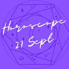 Horoscope for September 21st