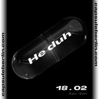 He duh @ capsule berlin 18.02.21