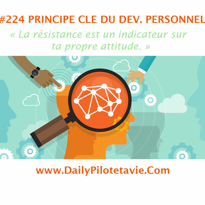 #224 PRINCIP CLE : LA RESISTANCE EST UN INDICATEUR DE TA PROPRE ATTITUDE