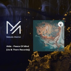 PREMIERE: Akiie - Peace Of Mind [Us & Them Records]