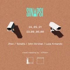 Luca Armando, SINAPSI @ Amelia, Milano 24.09.21
