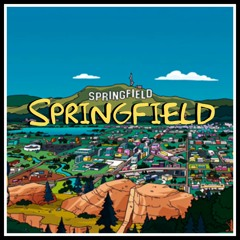 """The Simpsons Song """" Springfield"""" By BabyBlu The Profit"""