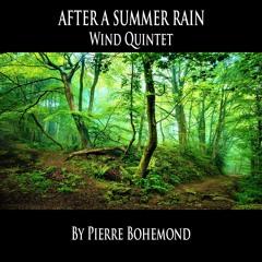 After A Summer Rain - Wind Quintet