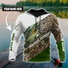 Download Crappie fishing camo personalized custom name 3d hoodie Mp3