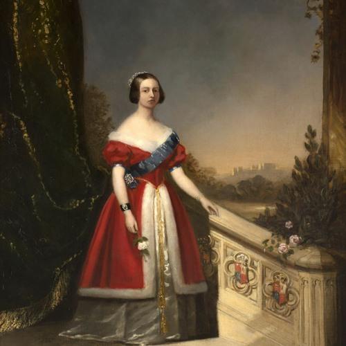 Solomon Hart Portrait of Queen Victoria