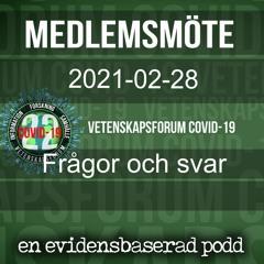 Medlemsmöte 2021-02-28
