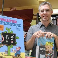 Interview de Fabrice Erre dessinateur de BD - petite librairie de Sommières