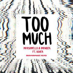 Marshmello x Imanbek (Ft. Usher) - Too Much (BraymanMusic Remix)