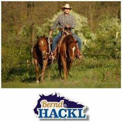 #8o/1 BERND HACKL Pferdetrainer, DQHA Professional Horseman o4/21
