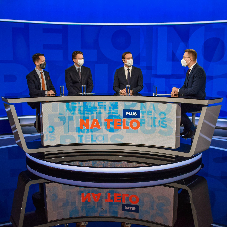Na telo plus: Marek Krajčí, Peter Sabaka a Peter Visolajský