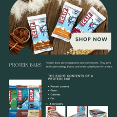 PROTEIN BAR PURCHASE, A HAPPY PURCHASE