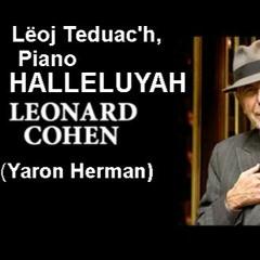 Hallelujah Leonard Cohen (Yaron Herman's piano version)