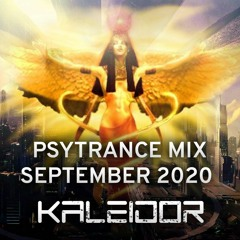 Progressive & Full-on Psytrance mix September 2020 - Kaleidor ૐ