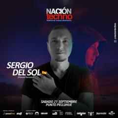 Sergio Del Sol @ Nacion Techno, Pelluhue, Chile (Sep-21-2019)
