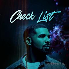 Check List (drake type beat  174 Gm) 128