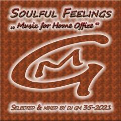 Soulful Feelings 35-21 (Music for Home Office) DJ GM