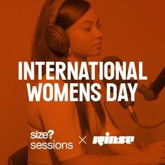 size? sessions: International Women's Day feat. Sarah Story, DJ Flight, Taylah Elaine & Jyoty